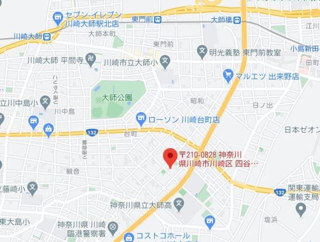 川崎大師南スカイマンション案内図