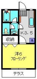 第5みどりハイツ2階Fの間取り画像