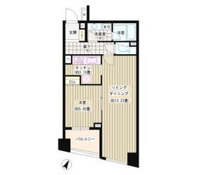 パトリス264階Fの間取り画像