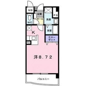 ベラルデ3階Fの間取り画像