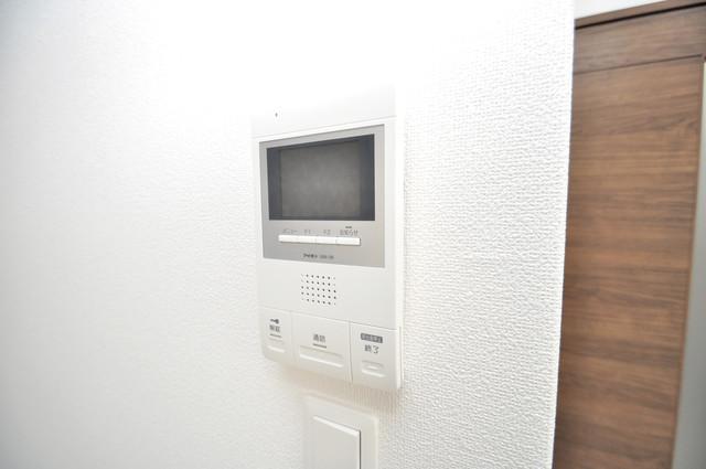 ラモーナ巽北Ⅱ TVモニターホンで確認してからドアを開けて下さいね。
