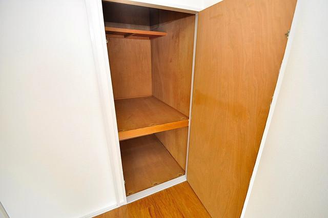 大宝菱屋西ロイヤルハイツ もちろん収納スペースも確保。いたれりつくせりのお部屋です。