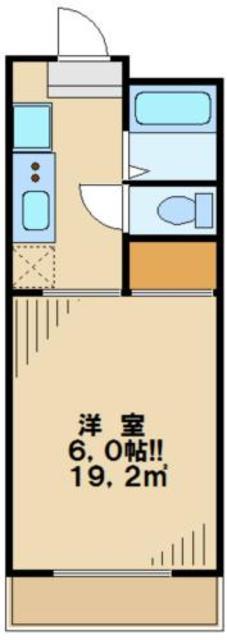 一水園大塚ハイツ間取図