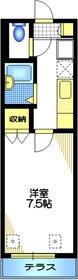 大岡山駅 徒歩10分1階Fの間取り画像