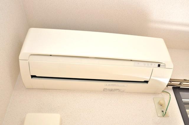 ハートハイム うれしいエアコン標準装備。快適な生活が送れそうです。
