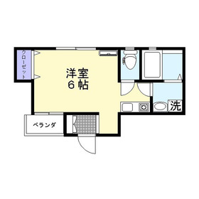 LOIRE FUJIMINO(ロワールフジミノ)1階Fの間取り画像
