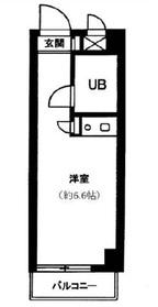 グレイス江古田4階Fの間取り画像