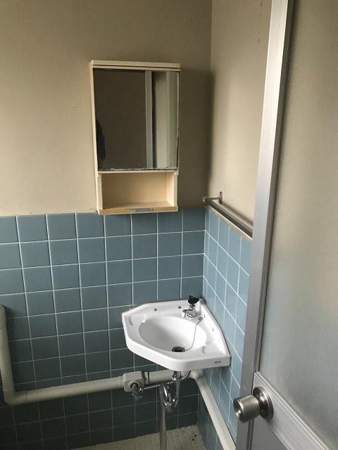 ニュー小机マンション洗面所