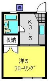 和田町駅 徒歩8分2階Fの間取り画像