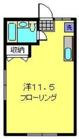 メゾン旭1階Fの間取り画像