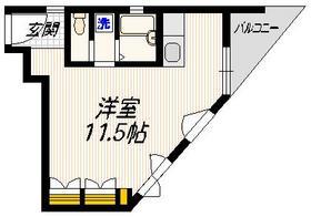 マグハウス2階Fの間取り画像