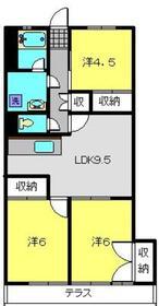 洋光台駅 徒歩34分1階Fの間取り画像