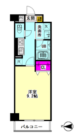 メゾン・ドゥ・クロシェット 106号室