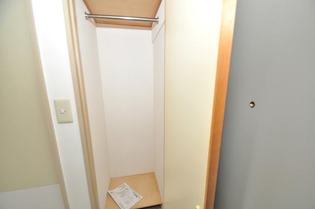 セントラルパーム もちろん収納スペースも確保。いたれりつくせりのお部屋です。