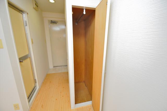 レガーレ布施 もちろん収納スペースも確保。お部屋がスッキリ片付きますね。