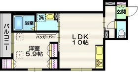 SAKURA3階Fの間取り画像
