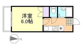 プリード倉敷4階Fの間取り画像