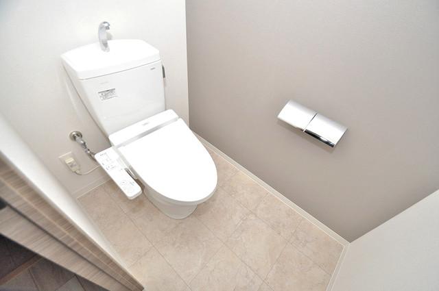 Grand Regis 白くてピカピカのトイレですね。癒しの空間になりそう。