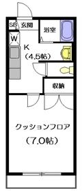 RAKUZAN1階Fの間取り画像