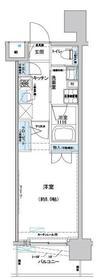 プレディアンスフォート磯子マキシヴ11階Fの間取り画像