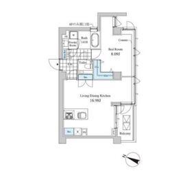 Casa Albore2階Fの間取り画像