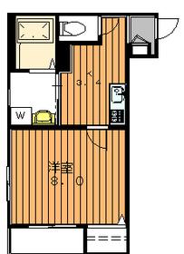 メゾン奈良3階Fの間取り画像