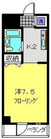 パークアヴェニュー2階Fの間取り画像
