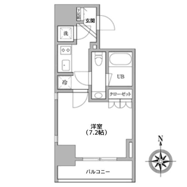 神田駅 徒歩3分間取図