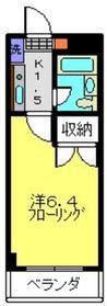 アーバンハイツNAⅡ1階Fの間取り画像