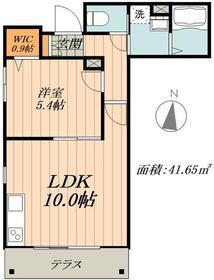 仮称 松島3丁目メゾン1階Fの間取り画像