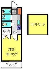 羽沢横浜国大駅 徒歩7分1階Fの間取り画像