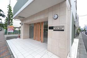 越中島駅 徒歩5分エントランス