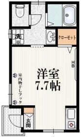 サザンガーデン渋谷本町1階Fの間取り画像