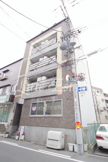 大阪市城東区蒲生2丁目の賃貸マンションの外観