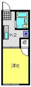 上星川駅 徒歩12分1階Fの間取り画像