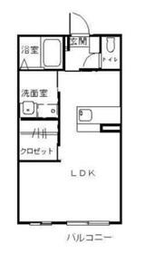 エスペランサ A2階Fの間取り画像