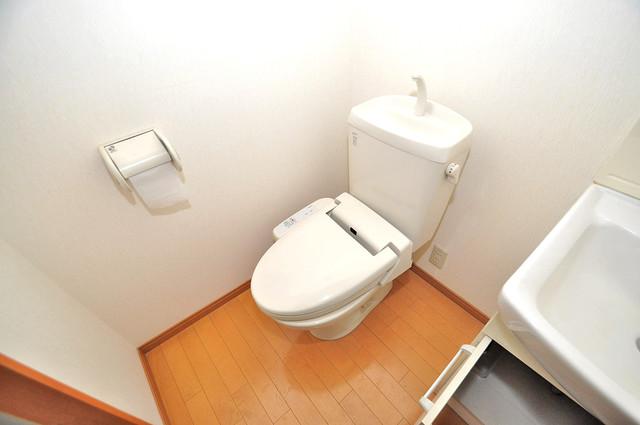 アドバンス俊徳 スタンダードなトイレは清潔感があって、リラックス出来ます。