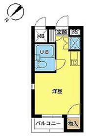 スカイコート阿佐ヶ谷第33階Fの間取り画像