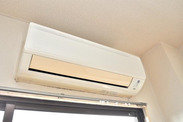 ブリリアント神路 うれしいエアコン標準装備。快適な生活が送れそうです。