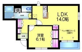 Lupinus Kasai ルピナスカサイ1階Fの間取り画像