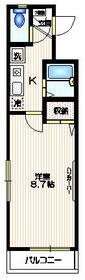 パークセブン新宿3階Fの間取り画像