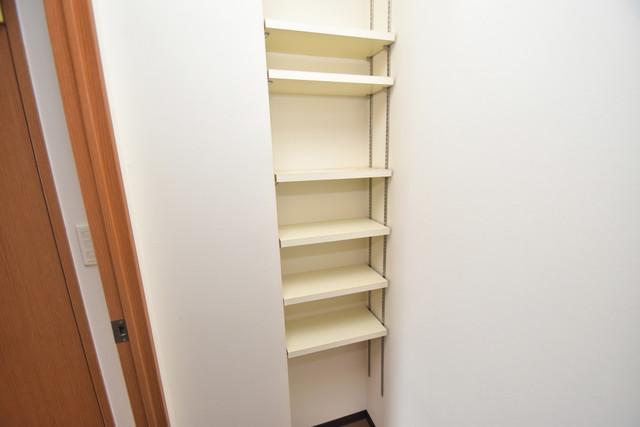 サンオークスマンション もちろん収納スペースも確保。いたれりつくせりのお部屋です。