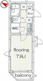 新大久保駅 徒歩10分2階Fの間取り画像