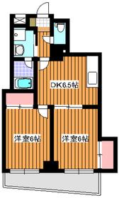 メゾンタカノハ54階Fの間取り画像