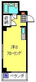 日吉駅 徒歩1分2階Fの間取り画像