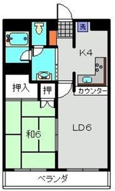 天王町駅 徒歩3分1階Fの間取り画像