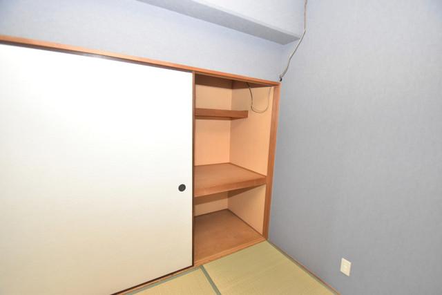 ヒューマニティプラザ もちろん収納スペースも確保。いたれりつくせりのお部屋です。