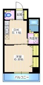 セードル横浜3階Fの間取り画像