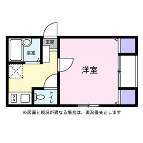 横浜駅 徒歩12分1階Fの間取り画像