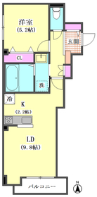 (仮)ラ ルーナ サンアイ 301号室